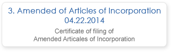 Amended articles of Incorporation 04.22.2014