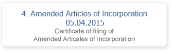 Amended Articles of Incorporation 05.04.2015